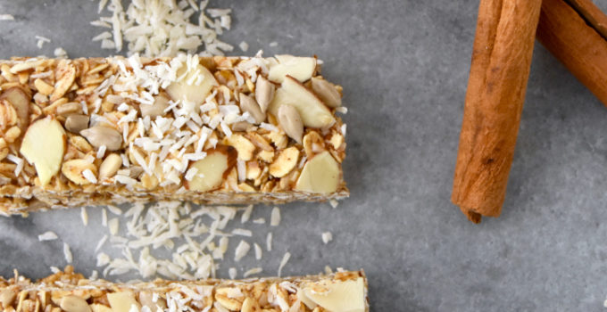 Coconut Chai Granola Bars