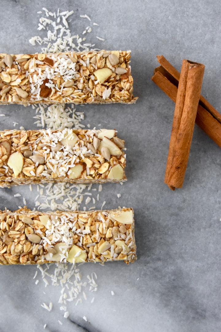 Coconut Chai Granola Bars