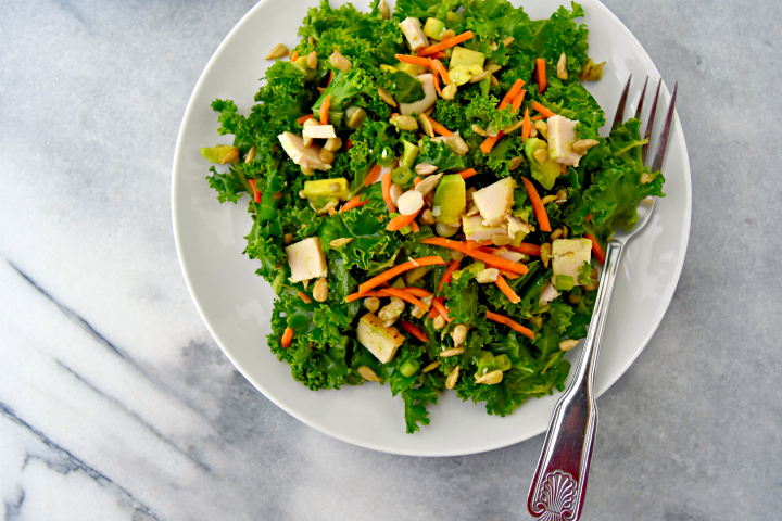 Simple Chopped Kale Salad