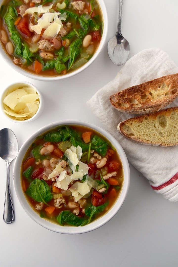 Italian Chicken Sausage Soup recipe