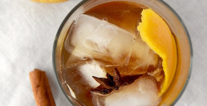Spiced Pear Old Fashioned