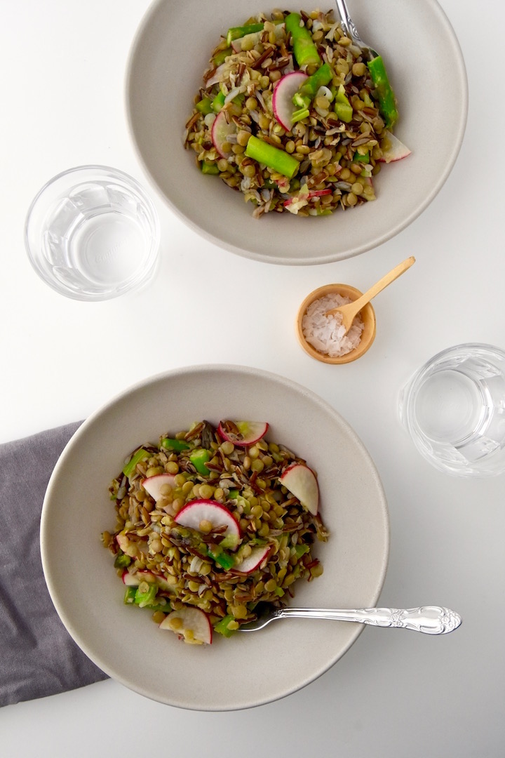 Lentil and Wild Rice Salad