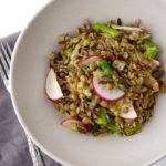 Spring Lentil and Wild Rice Salad