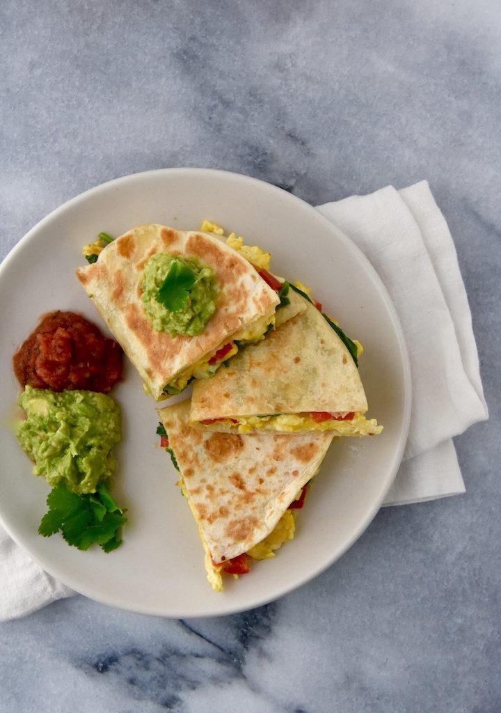 Egg Breakfast Quesadillas