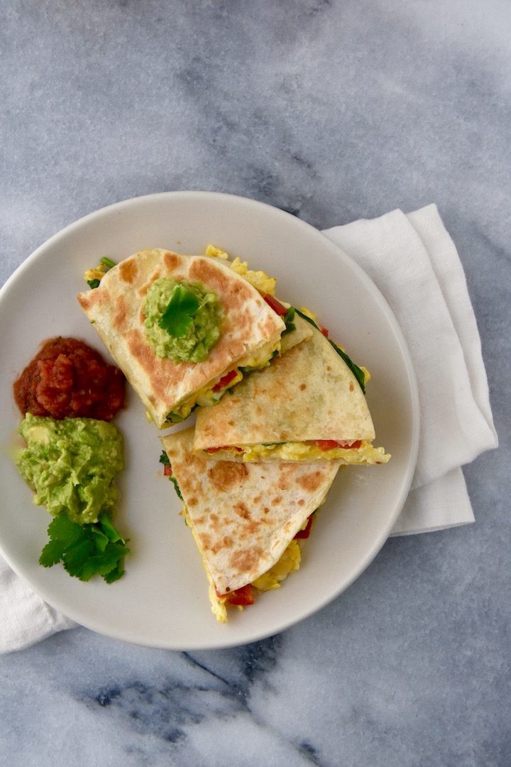 Egg Breakfast Quesadilla