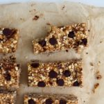 How To: Peanut Butter Chocolate Chip Granola Bars