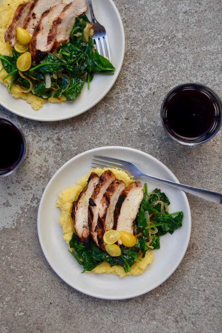 Simple Grilled Balsamic Chicken