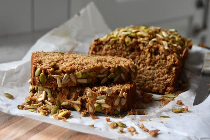 Whole Wheat Maple Zucchini Bread