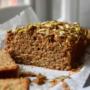 Whole Wheat Maple Zucchini Loaf
