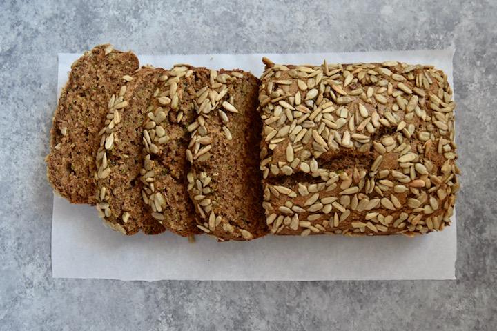 Whole Wheat Zucchini Bread