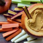 Roasted Garlic and White Bean Dip with Pumpkin | uprootkitchen.com