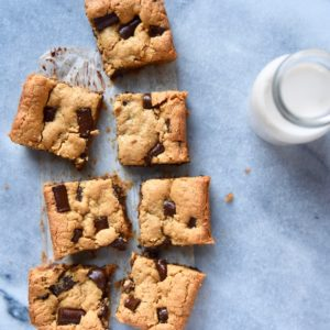 Small Batch Nut Butter Cookie Bars