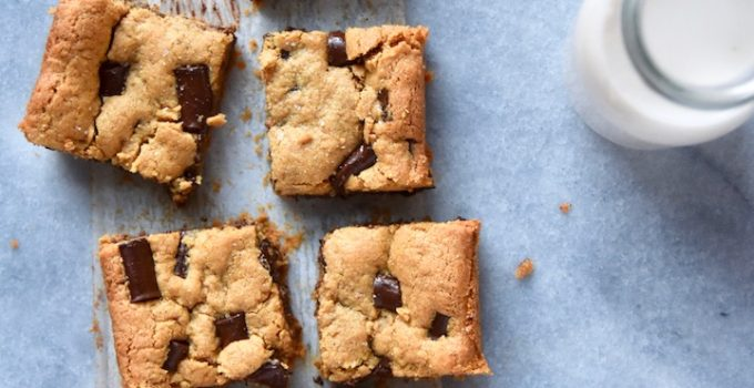 Nut Butter Cookie Bars