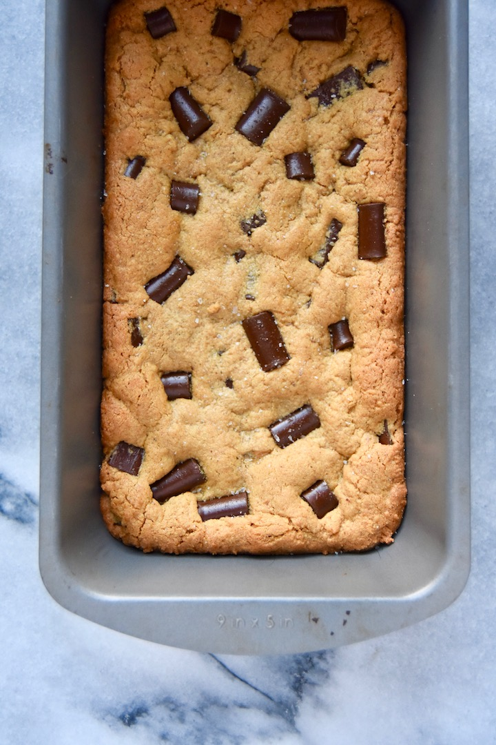 Small Batch Nut Butter Cookie Bars | uprootkitchen.com