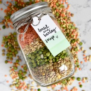 Lentil and Barley Soup Mix | uprootkitchen.com