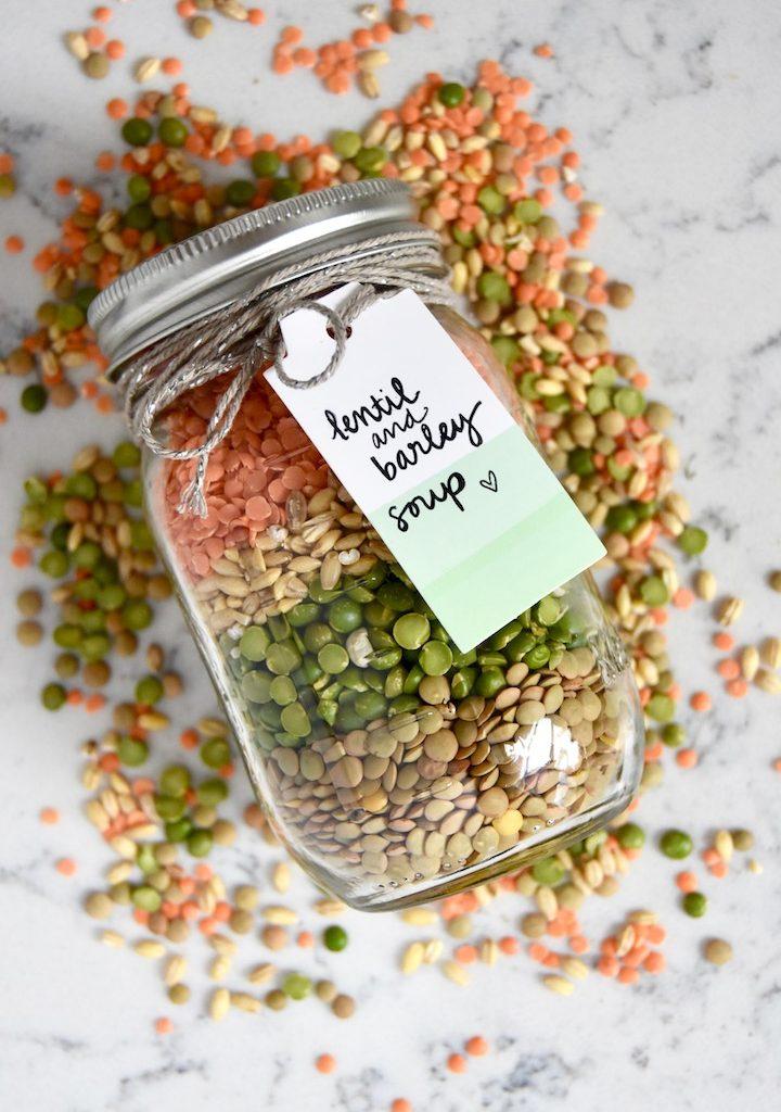 Edible DIY: Lentil and Barley Soup Mix