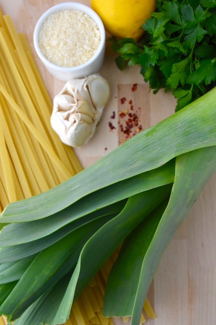 Leek Pasta Ingredients